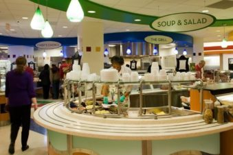 Wells Cafeteria Service Counter2